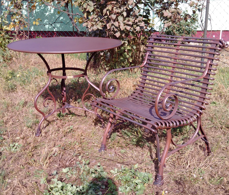 G603 - Table de Jardin type 2 - Ø800