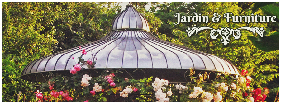 Jardin Furniture - Garden furniture - wrought iron or wood - made ​​by experienced craftsmen.
