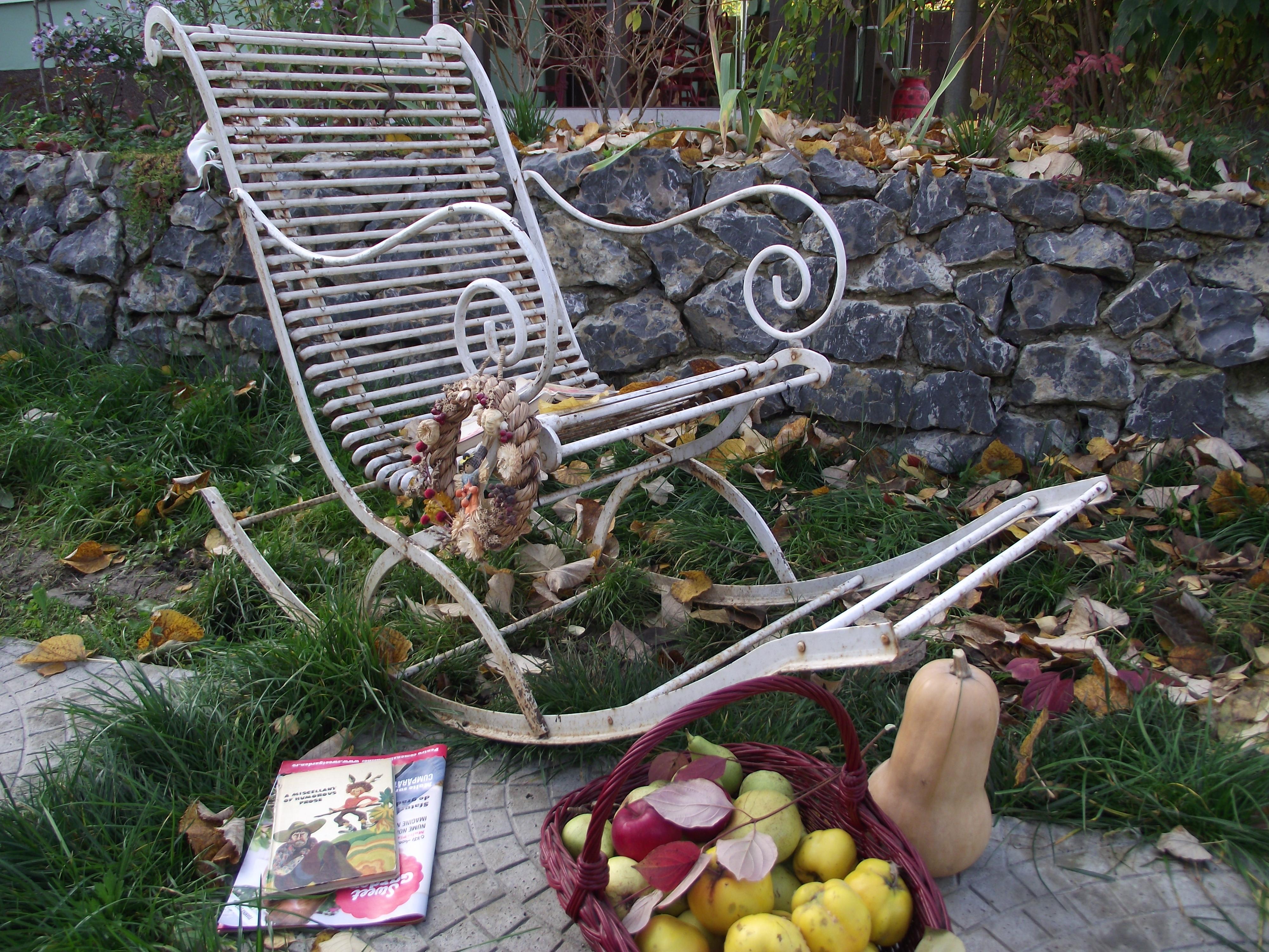 fb fauteuil de jardin a bascule. Black Bedroom Furniture Sets. Home Design Ideas