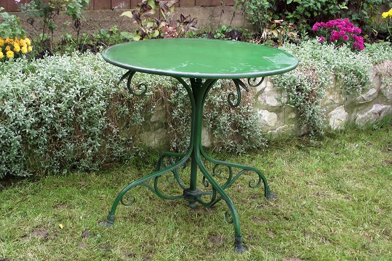 T80 - Table de Jardin ronde - pieds Griffe