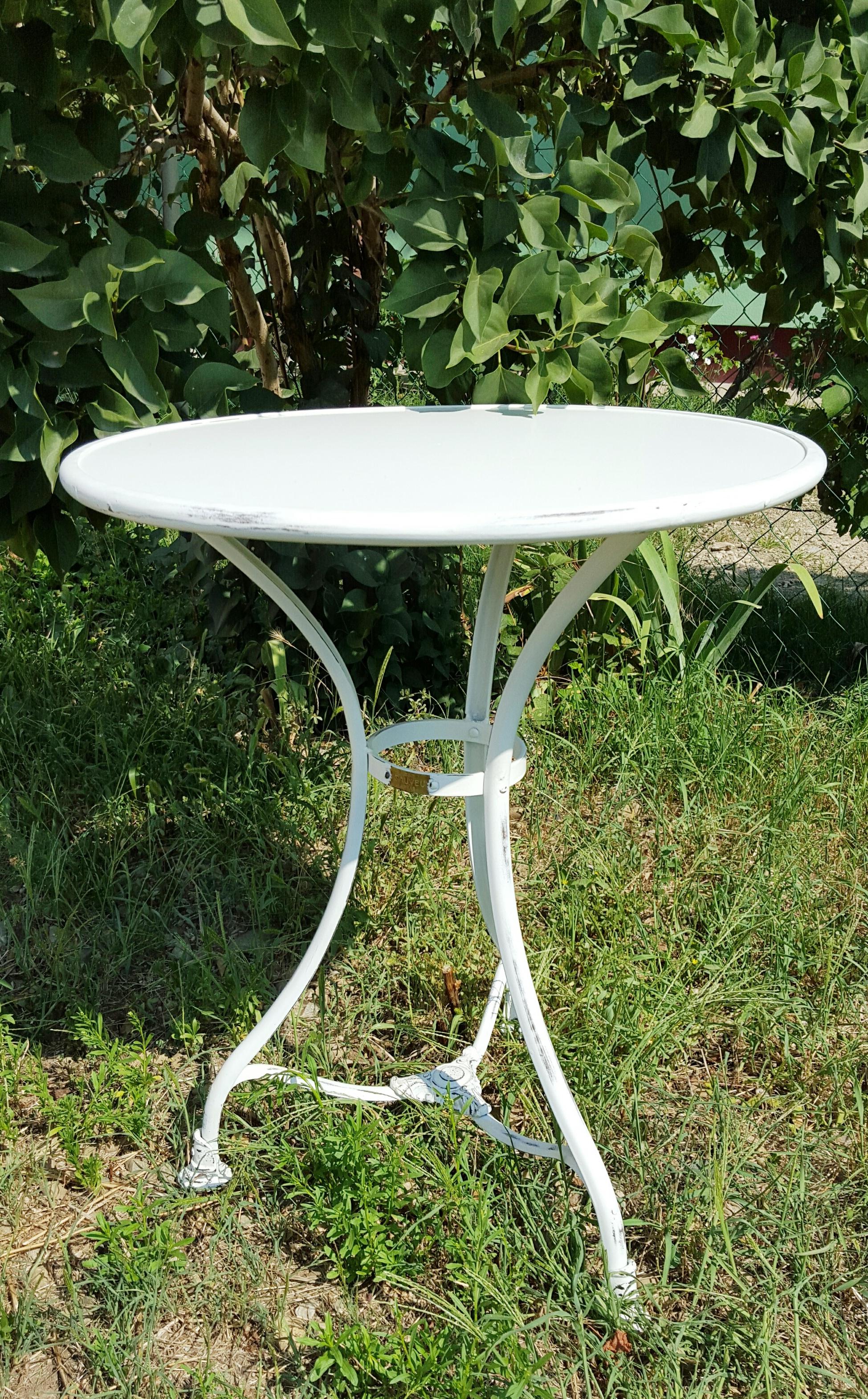 G601 - Table de Jardin type 1- Ø600