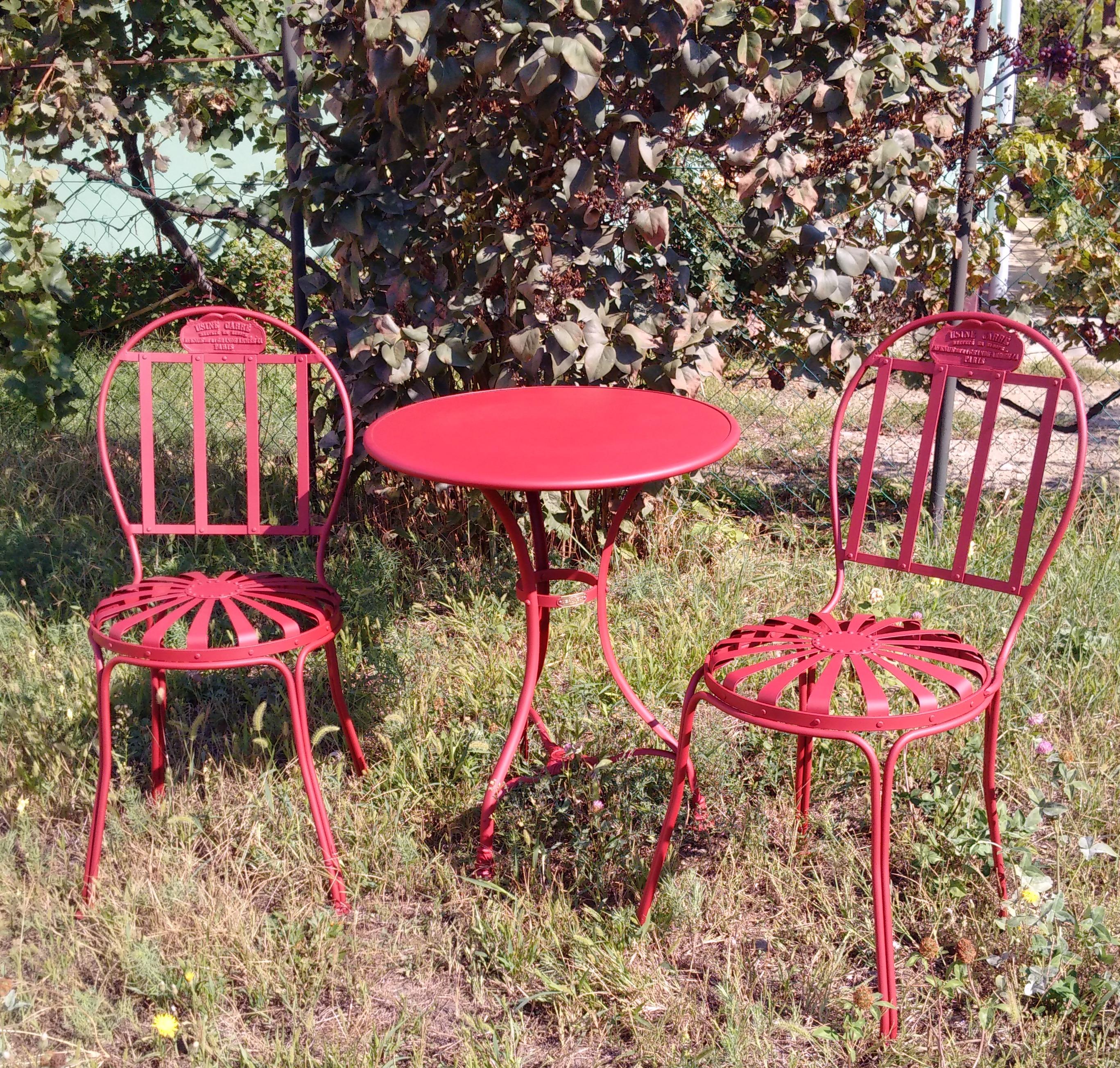 g601 table de jardin type 1 600. Black Bedroom Furniture Sets. Home Design Ideas